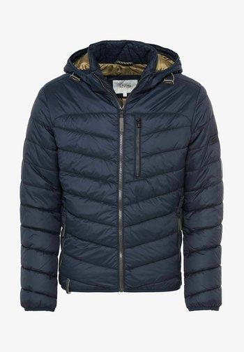 MIT KAPUZE  - Winter jacket - blau