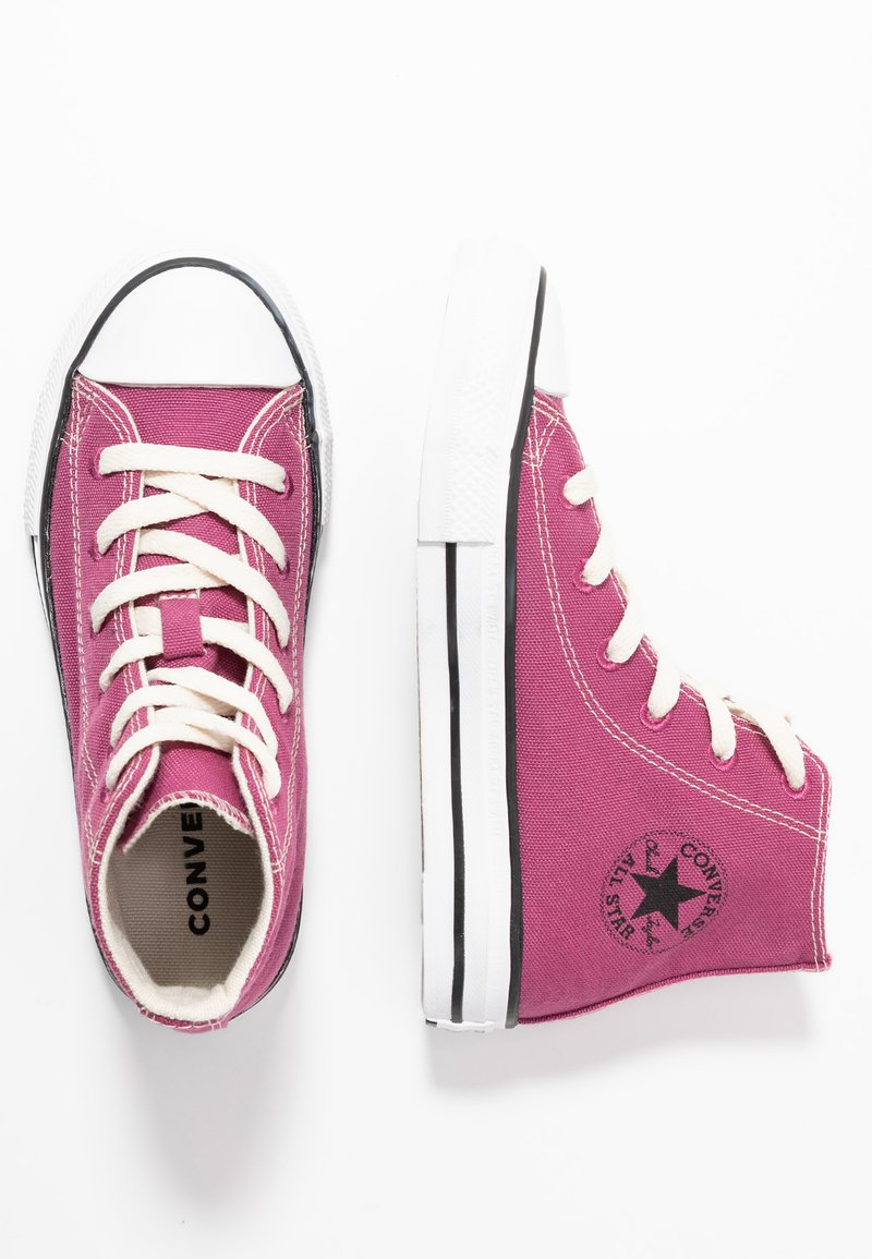 Converse - CHUCK TAYLOR ALL STAR RENEW  - Sneakers high - mesa rose/black/white