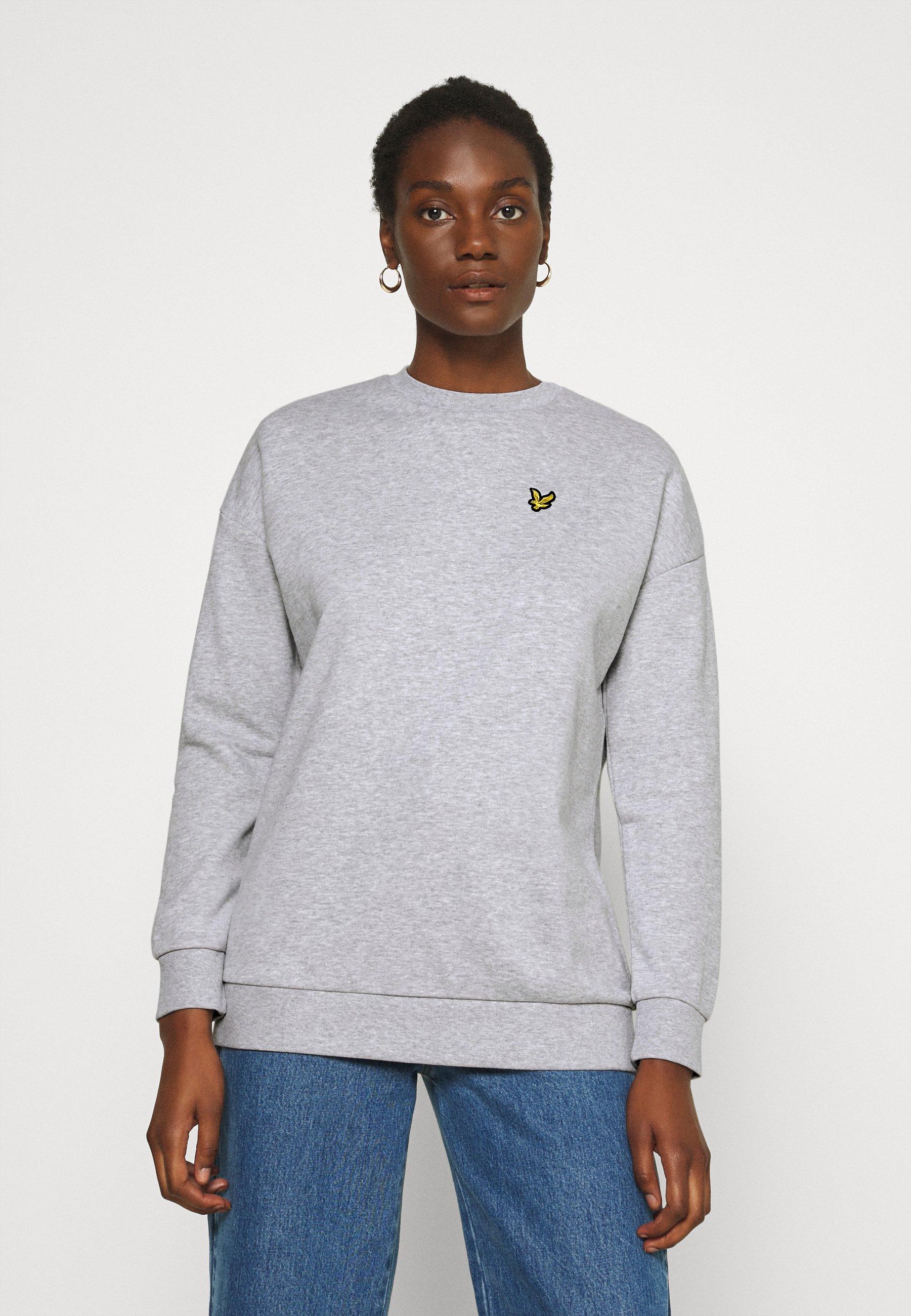 Damen Sweatshirt - light grey