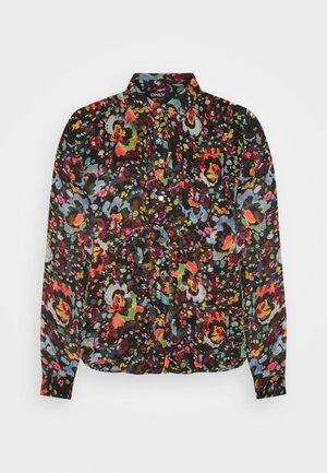 ONLEVELINE - Button-down blouse - black