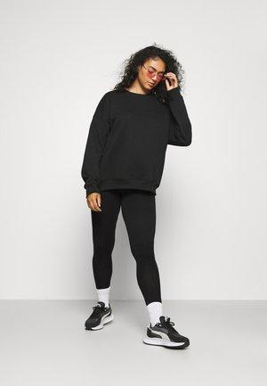 CARTIME 2 PACK - Leggings - Trousers - black