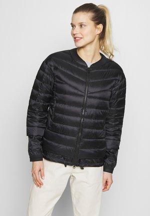 KAIA - Gewatteerde jas - black