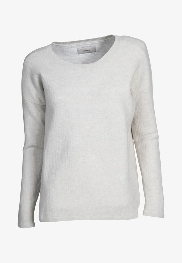 TWICE DOPPELT - Jumper - grey