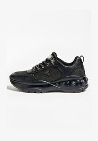 Guess - BASKETS CLEAO APPLICATIONS - Trainers - noir - 0