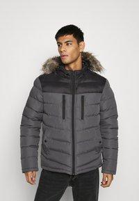 Brave Soul - INVERNESS - Winter jacket - black/grey - 0