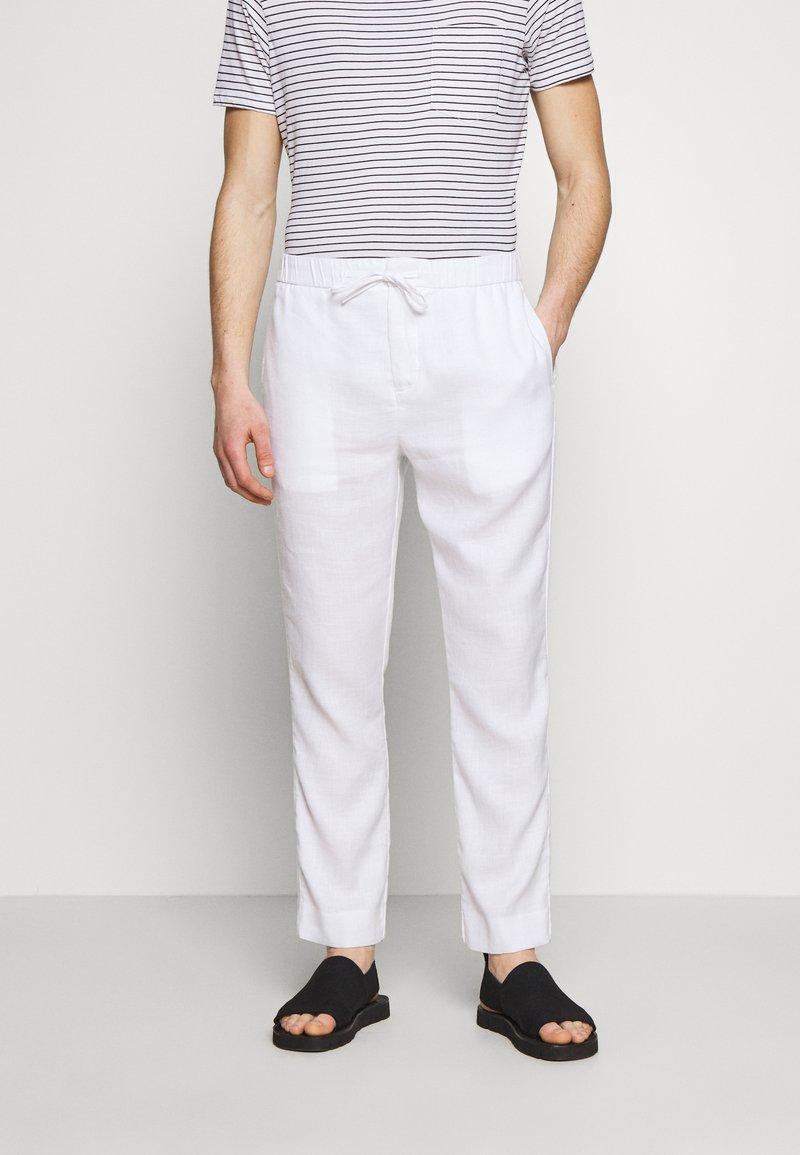 Frescobol Carioca - Pantalon classique - white