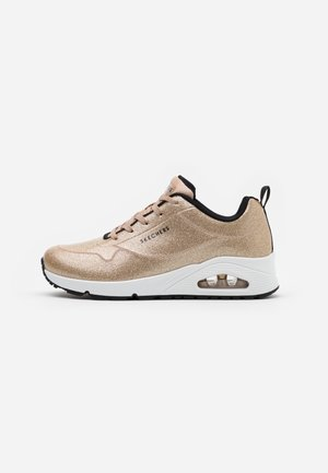 UNO - Trainers - champagne gold glitter hot melt