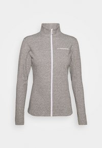 J.LINDEBERG - FLORA MID LAYER - Fleece jacket - stone grey melange - 4