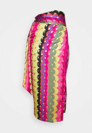 MULTI USE RAINBOW JASPRE SKIRT - Pouzdrová sukně - multi