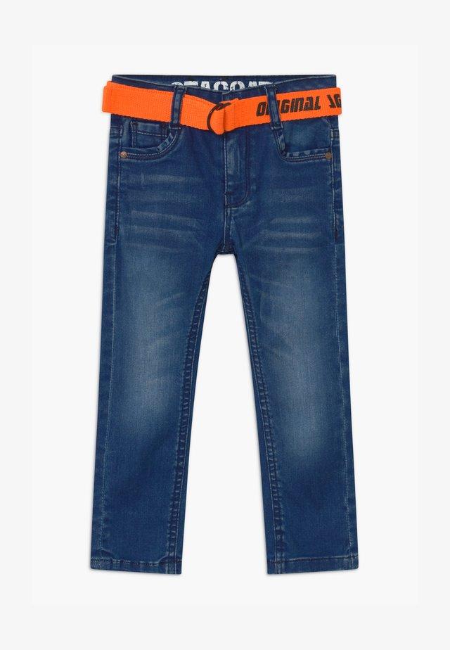 KID - Slim fit -farkut - mid blue denim