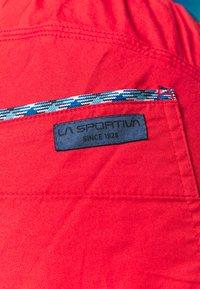 La Sportiva - TUNDRA PANT  - Outdoorové kalhoty - hibiscus/neptune - 4