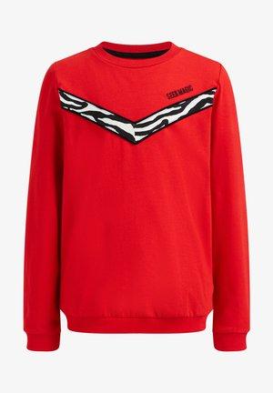 MET COLOURBLOCK - Long sleeved top - red