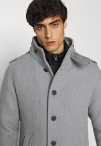 Selected Homme - SLHNOAH COAT  - Mantel - grey melange - 4