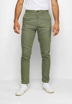 PANT BASICO - Trousers - green