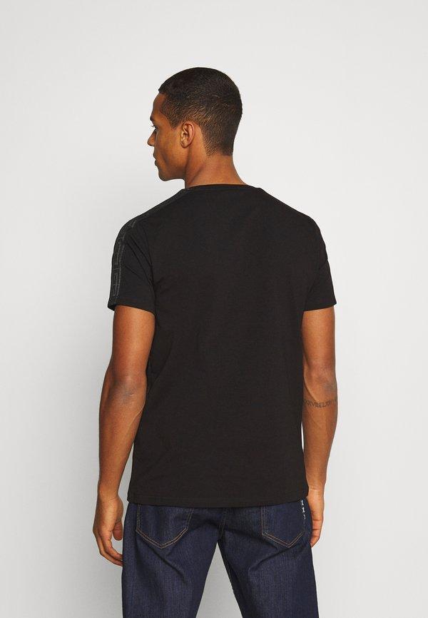 Glorious Gangsta DASLI - T-shirt z nadrukiem - black/czarny Odzież Męska JZEL