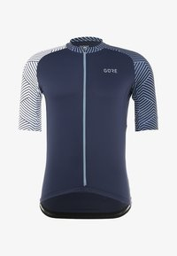Gore Wear - TRIKOT - T-Shirt print - marine blue/white - 5