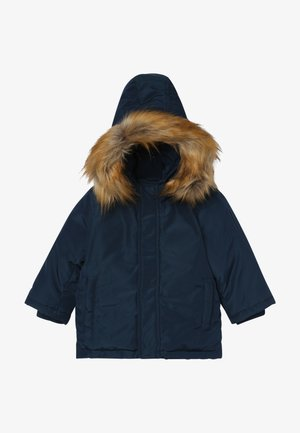 Down coat - navy blue