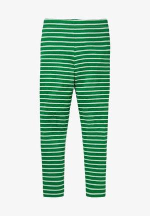 FRÖHLICHE - Leggings - Trousers - baumgrün/naturweiß