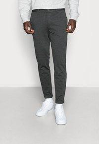 Only & Sons - ONSMARK PANT - Trousers - dark grey melange - 0