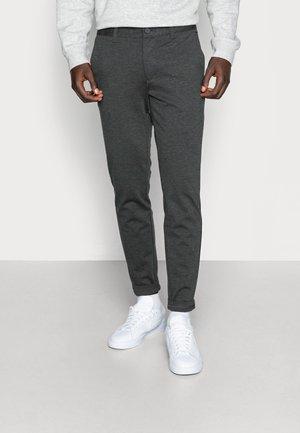 ONSMARK PANT - Trousers - dark grey melange