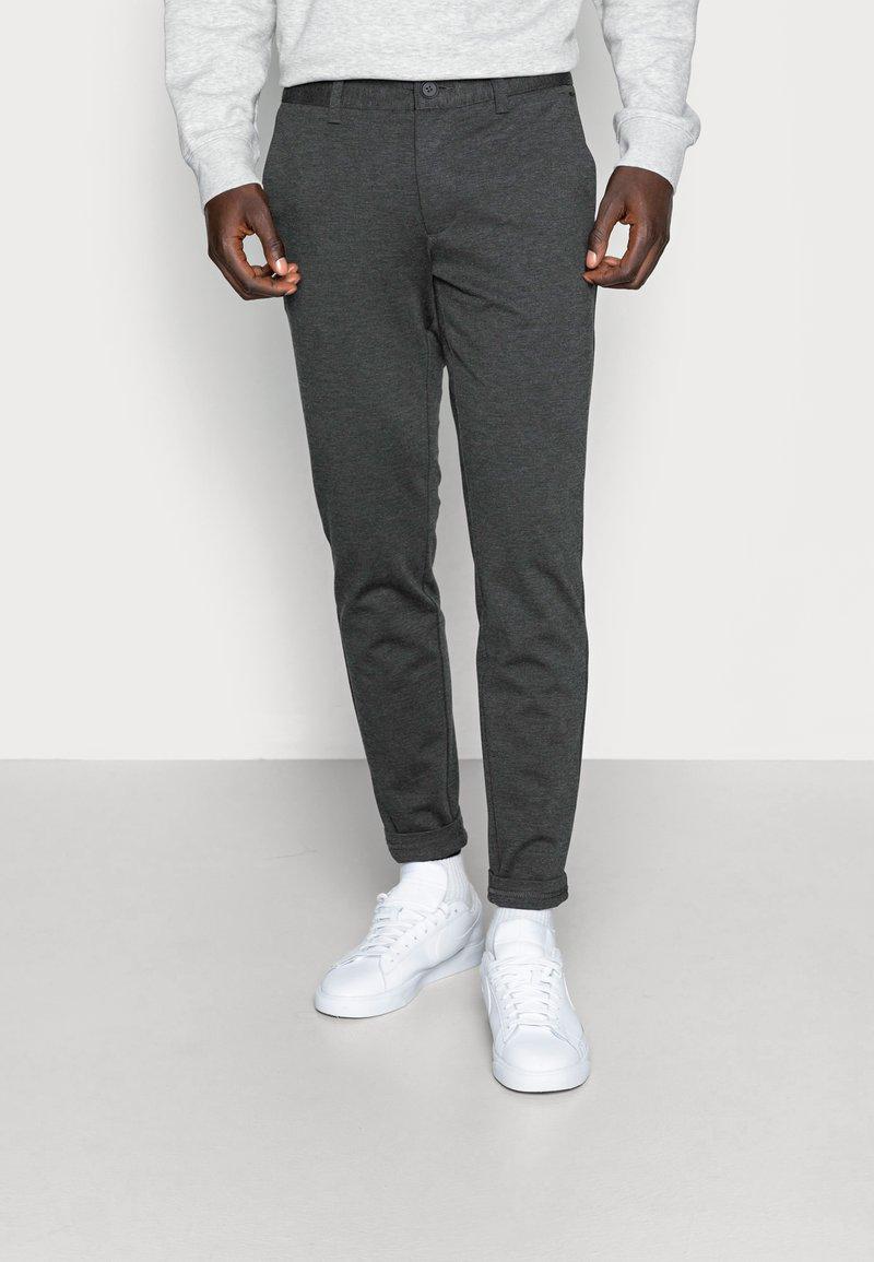Only & Sons - ONSMARK PANT - Trousers - dark grey melange