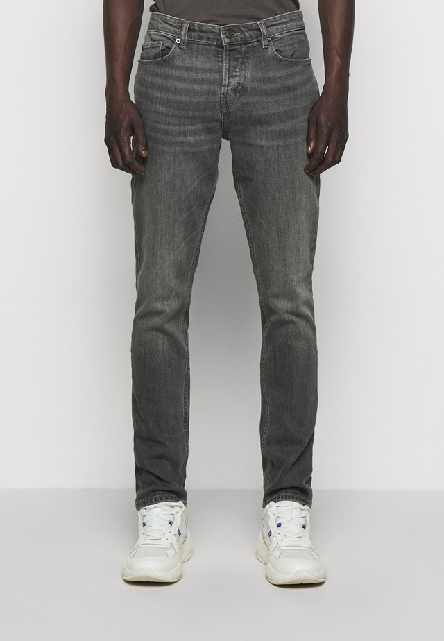 DAVID ECO GRIS - Džíny Slim Fit - gris