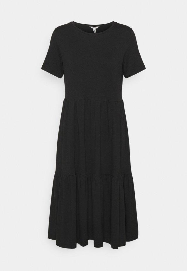 OBJSTEPHANIE DRESS - Trikoomekko - black