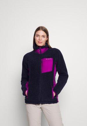 ARCHER RIDGE™ II - Fleece jacket - dark nocturnal/plum