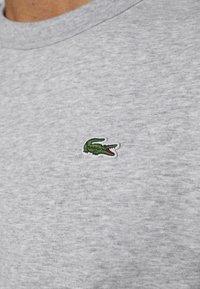 Lacoste Sport - RAINBOW TAPING - Collegepaita - silver chine/navy blue/utramarine/green/white - 5