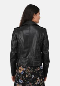 Oakwood - RADIO - Veste en cuir - black - 2