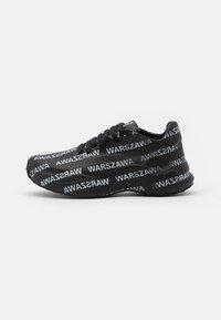 MISBHV - WARSZAWA MOON TRAINER - Trainers - black/white - 0