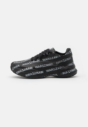 WARSZAWA MOON TRAINER - Zapatillas - black/white