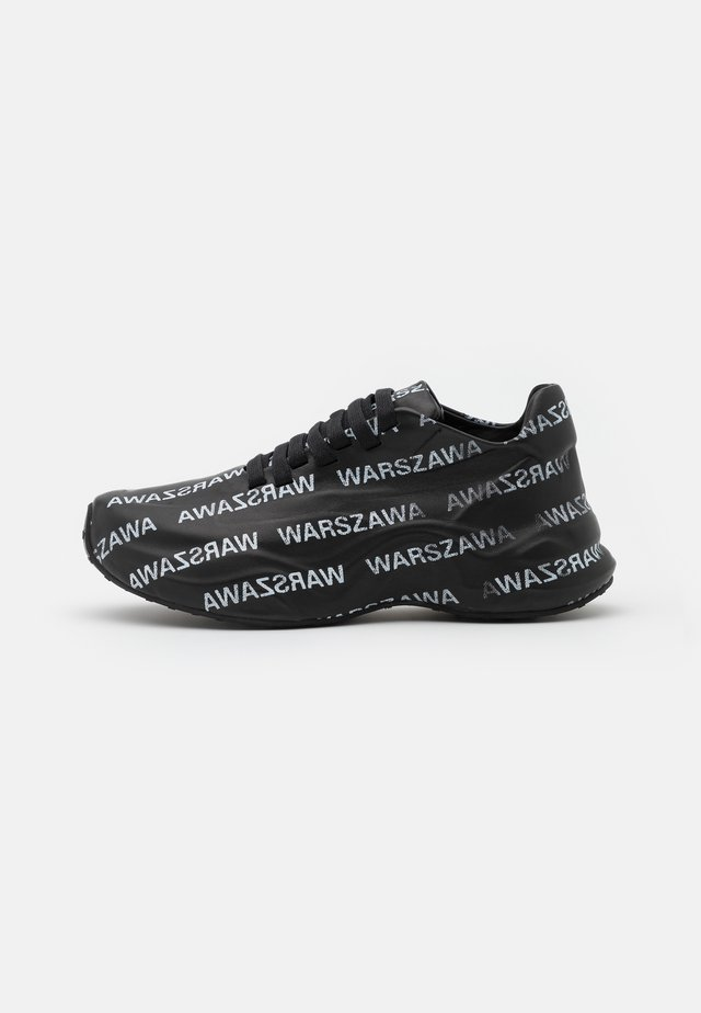 WARSZAWA MOON TRAINER - Sneakers basse - black/white