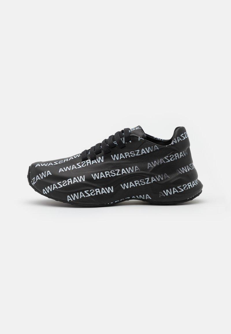 MISBHV - WARSZAWA MOON TRAINER - Trainers - black/white