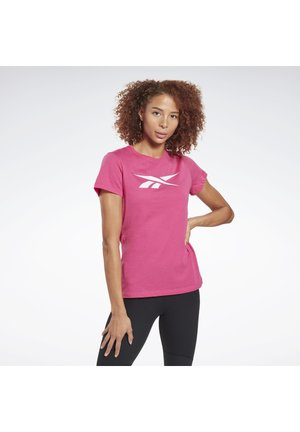 TRAINING ESSENTIALS VECTOR GRAPHIC T-SHIRT - Print T-shirt - pink
