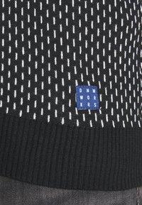 Blend - Stickad tröja - black - 4