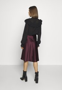 Lace & Beads - SOPHIE SKIRT - A-Linien-Rock - burgundy - 2
