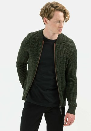 STYLE - Cardigan - olive brown