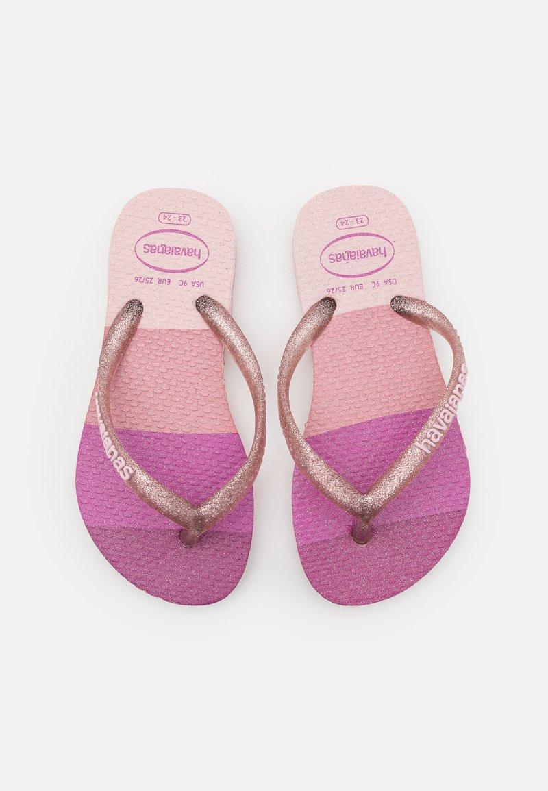 Havaianas - PALETTE GLOW - T-bar sandals - candy pink