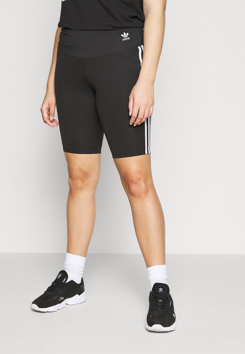 adidas Originals - TIGHT - Shorts - black/white