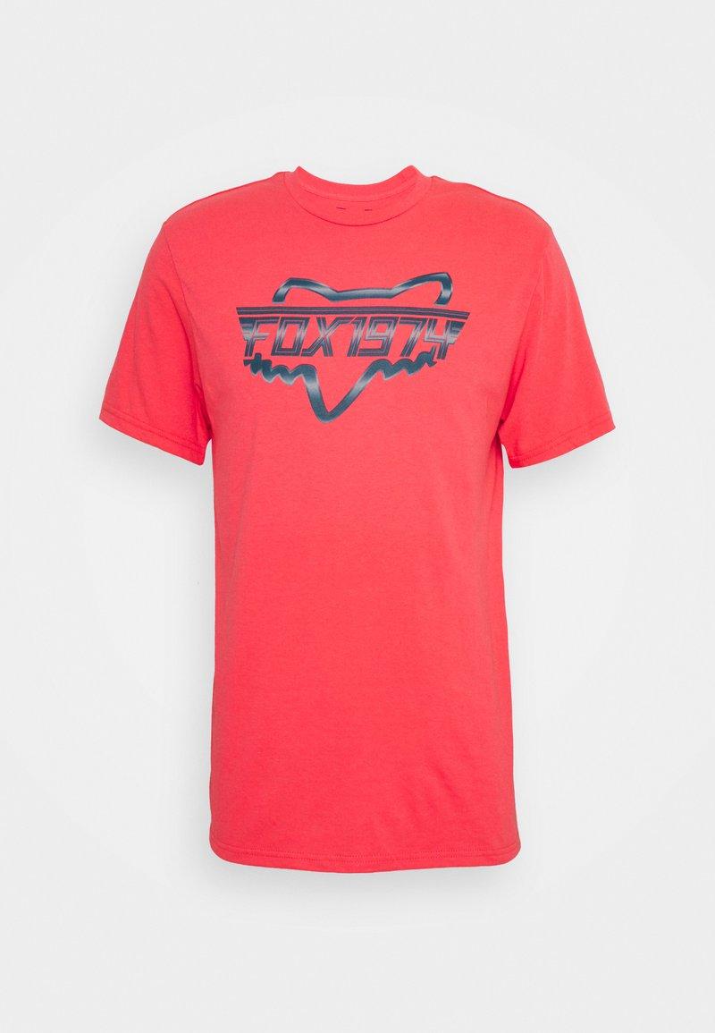 Fox Racing - RAZORS EDGE TEE  - Print T-shirt - atomic punch