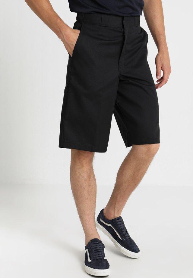 MULTI POCKET WORK  - Shorts - black