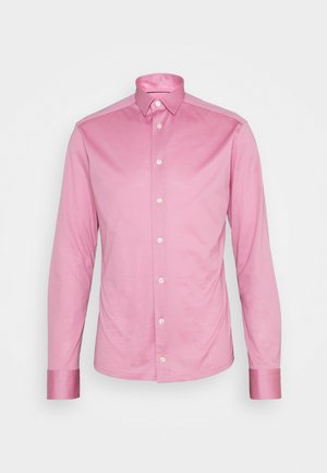 SLIM SHIRT - Shirt - pink/red