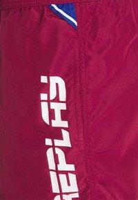 Replay - BEACHWEAR - Swimming shorts - bordeaux - 2