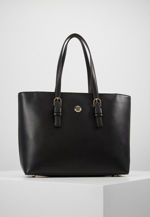 CLASSIC SAFFIANO TOTE - Kabelka - black