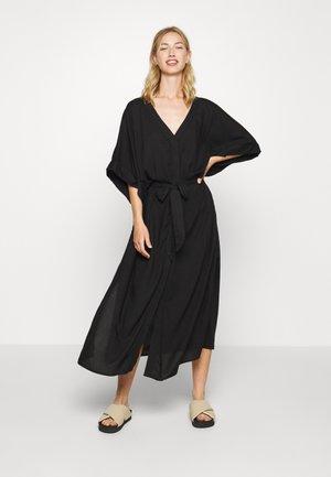 CARRO KAFTAN - Robe chemise - black dark