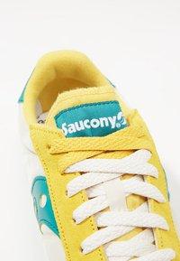 Saucony - JAZZ ORIGINAL VINTAGE - Sneaker low - mustard/tan/teal - 5