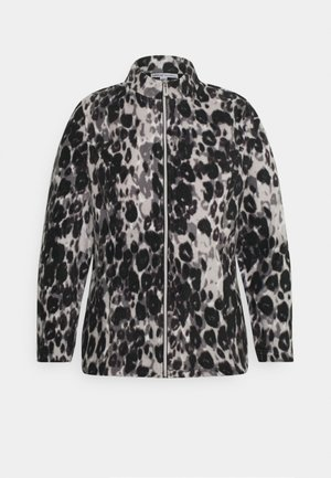 LEOPARD PRINT JACKET - Fleecepaita - grey