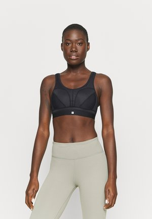 VICTORY RUNNING BRA - High support sports bra - black