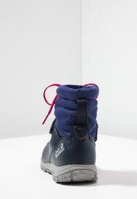 Jack Wolfskin - KIWI WT TEXAPORE MID - Walking boots - dark blue/red - 4